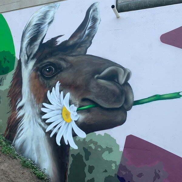 tuinschildering