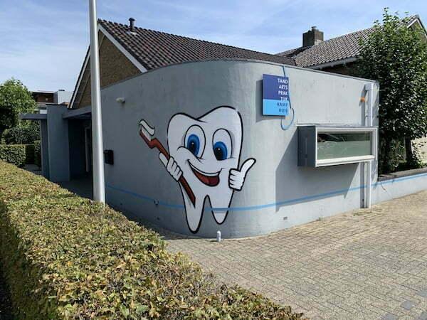 muurschildering bedrijf